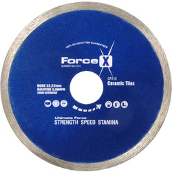 Toolpak Tile & Ceramic Cutting Diamond Blade 180 x 22.2/25.4mm - 93008 - from Toolstation