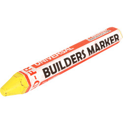 Markal Markal Builders Marker Yellow - 93150 - from Toolstation