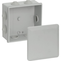 Unbranded IP55 Junction Box 100 x 100 x 55 - 93158 - from Toolstation