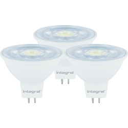 Integral LED Integral LED 12V MR16 GU5.3 Dimmable Lamp 4.6W Cool White 410lm - 93160 - from Toolstation