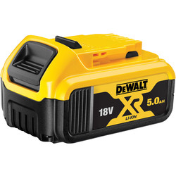 DeWalt DeWalt XR 18V Battery 5.0Ah - 93235 - from Toolstation