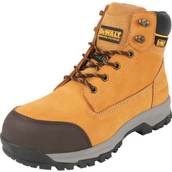 DeWalt DeWalt Davis Safety Boots Honey Size 10 - 93262 - from Toolstation