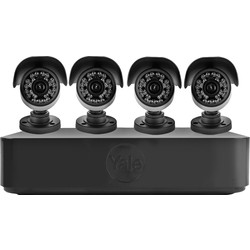 Yale Smart Living Yale Smart HD720 CCTV Kit 4 Camera - 93281 - from Toolstation