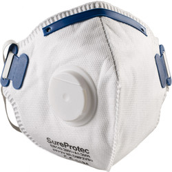FFP2 Valved Face Mask  - 93297 - from Toolstation