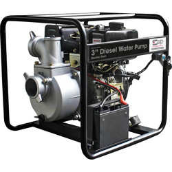 "SIP SIP 04917 3"" 8.6hp Diesel Water Pump 833 L/min - 93305 - from Toolstation"