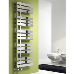 Reina Sesia Towel Radiator 860 x 500mm 1938Btu - 93308 - from Toolstation