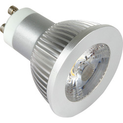 LED COB 5W Dimmable Lamp GU10 Cool White 320lm A+ - 93376 - from Toolstation