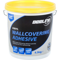 Ready Mixed Wallcovering Adhesive 4.5Kg - 93424 - from Toolstation