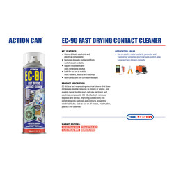 Action Can EC-90 Contact Cleaner