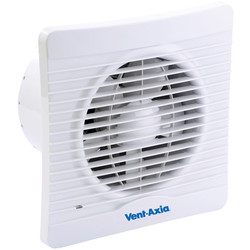 Vent Axia Vent-Axia 150mm Silhouette Extractor Fan Timer - 93494 - from Toolstation