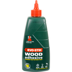 Evo-Stik Evo-Stik Interior Resin W Wood Adhesive 500ml - 93518 - from Toolstation