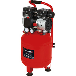 Einhell Einhell TE-AC 24S 24L 1Hp Silent Upright Air Compressor 230V - 93559 - from Toolstation