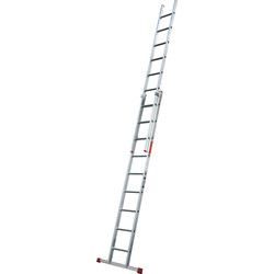 Lyte Domestic Extension ladder 2 section, Closed Length 2.7m