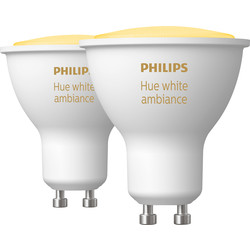 Philips Hue Philips Hue White Ambiance Bluetooth Lamp GU10 - 93583 - from Toolstation