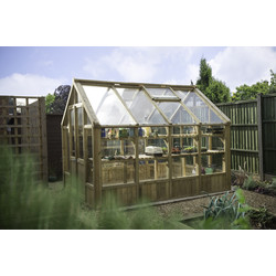 Forest Forest Garden Vale Greenhouse 255cm (h) x 264cm (w) x 322cm (d) - 93633 - from Toolstation