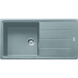 Franke Franke Basis Reversible Fragranite Kitchen Sink & Drainer Single Bowl Stone Grey - 93663 - from Toolstation