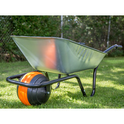 Walsall Wheelbarrow Company Galvanised Ball Wheelbarrow 85L - 93708 - from Toolstation