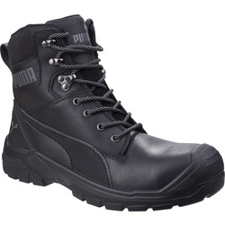Puma Puma Conquest Hi-Leg Safety Boots Black Size 12 - 93799 - from Toolstation