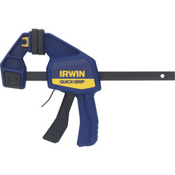 "Irwin Irwin Quick-Grip Medium-Duty Bar Clamp 150mm / 6"" - 93817 - from Toolstation"