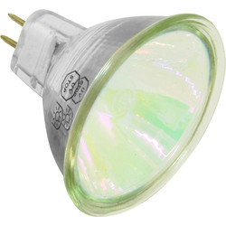 MR16 Prolite Tru Colour Lamp 50W Green 13° - 93828 - from Toolstation