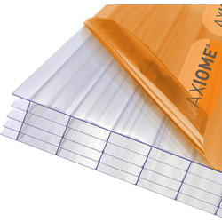 Axiome Axiome 25mm Polycarbonate Clear Fivewall Sheet 690 x 2000mm - 93944 - from Toolstation