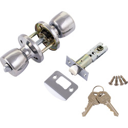 ERA ERA Door Knob Set Entrance Chrome - 94136 - from Toolstation