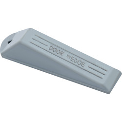 Door Wedge Grey Rubber - 94278 - from Toolstation