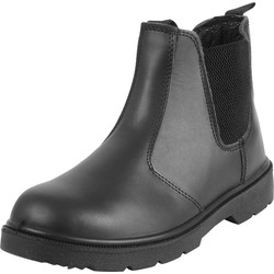 Blackrock Dealer Safety Boots Black Size 8 - 94316 - from Toolstation