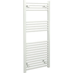 Kudox Kudox White Flat Ladder Towel Radiator 1200 x 500mm 1703Btu - 94328 - from Toolstation