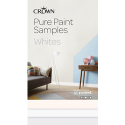 Crown Crown Breatheasy Pure Paint Samples Whites - 94359 - from Toolstation