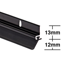 Stormguard Stormguard Heavy Duty Around Door Seal Black - 94366 - from Toolstation