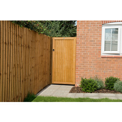Forest Forest Garden Dip Treated Board Gate 182cm (h) x 91cm (w) x 4.4cm (d) - 94397 - from Toolstation