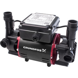 Grundfos STR2-2.0 C Twin Impeller Positive Head Shower Pump