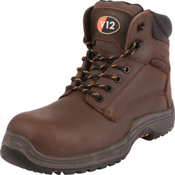 V12 Footwear VR601 Bison Safety Boots Size 6 - 94533 - from Toolstation
