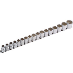 "Laser Laser Bi-Hex Socket Set 1/2"" Drive - 94618 - from Toolstation"