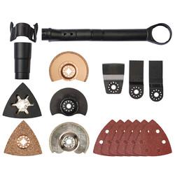 Einhell Multitool Kit 14 Piece Accessories