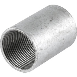 Unbranded Galvanised Coupler 20mm - 94778 - from Toolstation