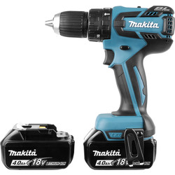 Makita Makita DHP459RMJ 18V Li-Ion LXT Cordless Brushless Combi Drill 2 x 4.0Ah - 94806 - from Toolstation