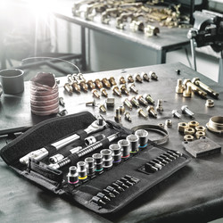 Wera 8100 3/8 Inch Zyklop Socket & Bit Set