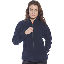 Womens Fleece Large Navy