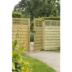 Forest Forest Garden Kyoto Gate 180cm (h) x 90cm (w) x 4cm (d) - 94887 - from Toolstation