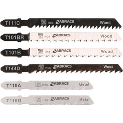 Abracs Abracs Bayonet Jigsaw Blade Set  - 94896 - from Toolstation