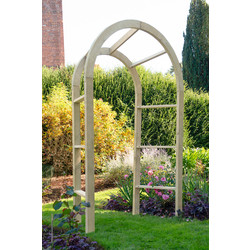Forest Forest Garden Infinity Arch 270cm (h) x 148cm (w) x 61cm (d) - 94910 - from Toolstation