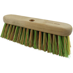 "Hill Brush Company Medium Sweeping Broom Head 10.5"" (276mm) - 94964 - from Toolstation"