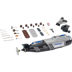 Dremel Dremel 8220-2 45 Piece 12V Roaty Multi-Tool Kit 1 x 2.0Ah - 95037 - from Toolstation