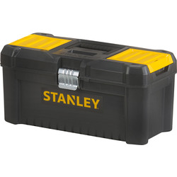 "Stanley Stanley Essential Toolbox Metal Latch 19"" - 95193 - from Toolstation"