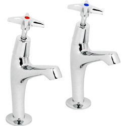 Deva Cross Head Kitchen Sink Taps