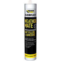 Everbuild WeatherMate Gap Filler & Adhesive 310ml  Clear - 95258 - from Toolstation