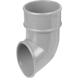 Aquaflow 68mm Shoe Grey - 95264 - from Toolstation