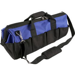 Heavy Duty Hard Base Tool Bag 600 x 280 x 260mm - 95337 - from Toolstation